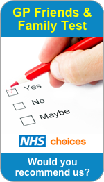 Would you recommend Castlefields Surgery to Friends and Family?